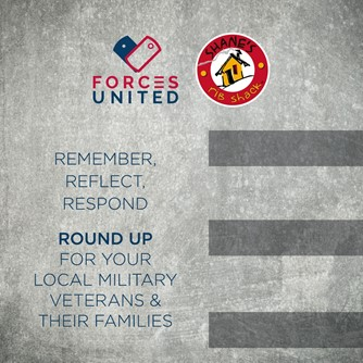 Forces United 11 to 11  Fundraising Campaign graphic