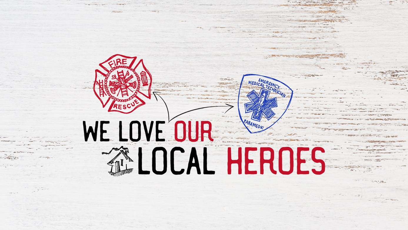 We love our local Heroes, Shane's Rib Shack