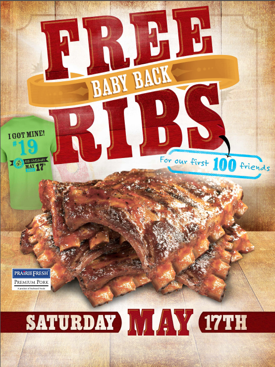 Free Baby Back Ribs
