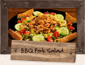 chopped pork salad